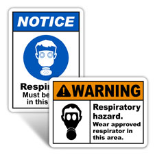 Respirator Signs