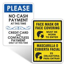 Retail Reopening Signs