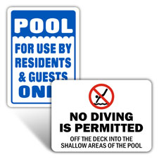 Swimming Signs