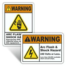 Warning Arc Flash Labels