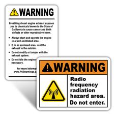 Warning Health Hazard Signs