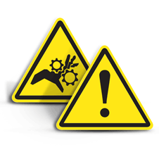 Warning ISO Labels