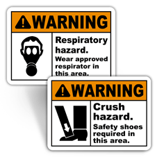 Warning Personal Protection Signs