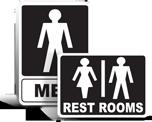 Bathroom Door Signs