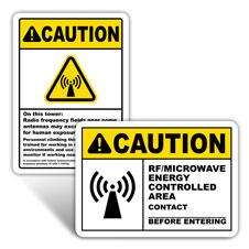RF Warning Signs