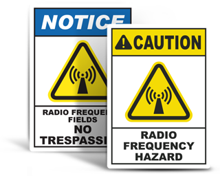 Radio Frequency Signs
