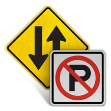Road Symbol Signs