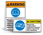 Safety Instruction Labels