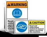 Safety Instruction Labels