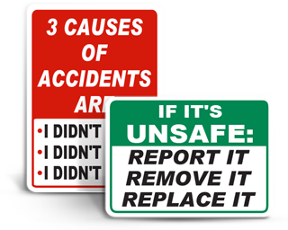 Safety Slogan Signs