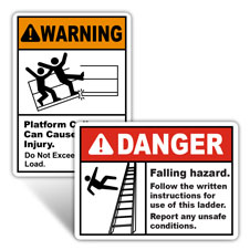 Scaffold / Ladder Safety Signs and Tags