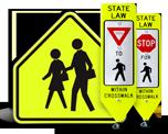 School Area Signs