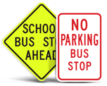 Bus Parking Signs