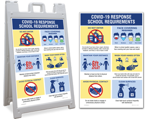 Safety Signs for Reopening Schools