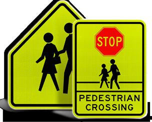 School Crossing Signs
