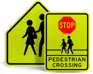 School Crossing Signs