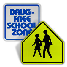 School Zone Signs
