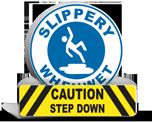 Slip / Fall Labels