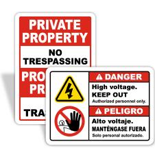 Spanish & Bilingual Signs