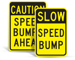 Speed Hump Signs
