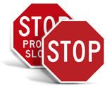 Street Stop Signs