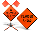 Temporary Traffic Control Signs