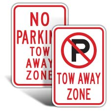 Towing Signs