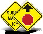 Yellow Traffic Signs