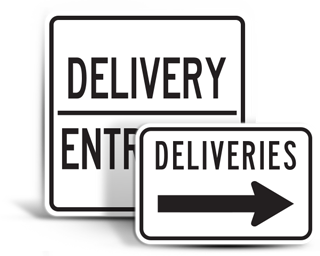 Truck and Delivery Signs