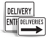 Truck Delivery Signs