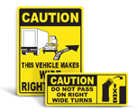 Truck Exterior Labels