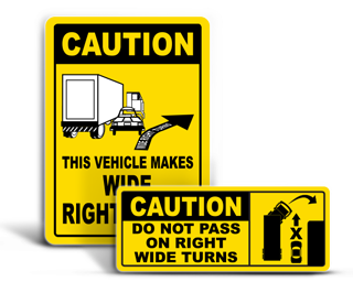 Truck Safety Labels