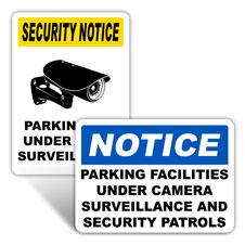 Under Surveillance Signs