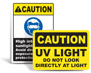 UV Safety Signs