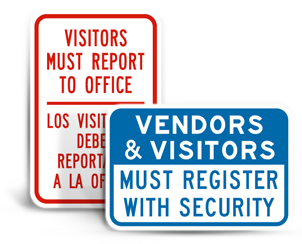 Visitor Signs