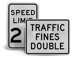 Construction Speed Limit Signs