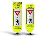 Pedestrian Crossing Panels