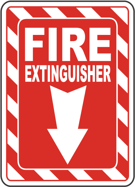 Fire Extinguisher Sign A5036 By Safetysign Com