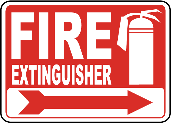 fire extinguisher sign a5043 by safetysigncom