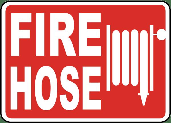 Fire Hose Sign A5047 By Safetysign Com