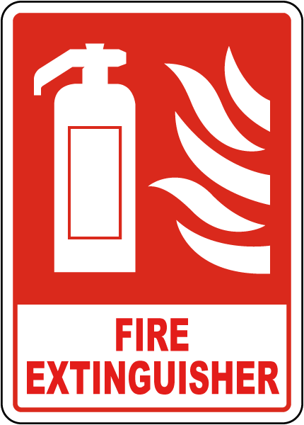photo relating to Printable Fire Extinguisher Sign referred to as Fireplace Extinguisher Signal
