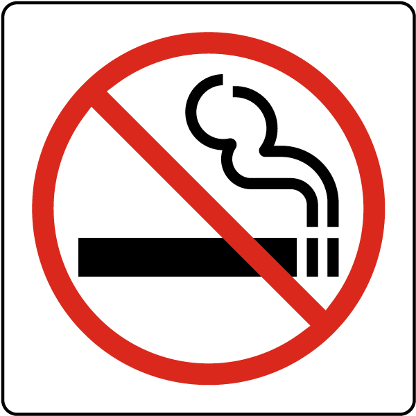 No Smoking Symbol Sign A5360 by SafetySign – Signs & Symbols Invitation Cards