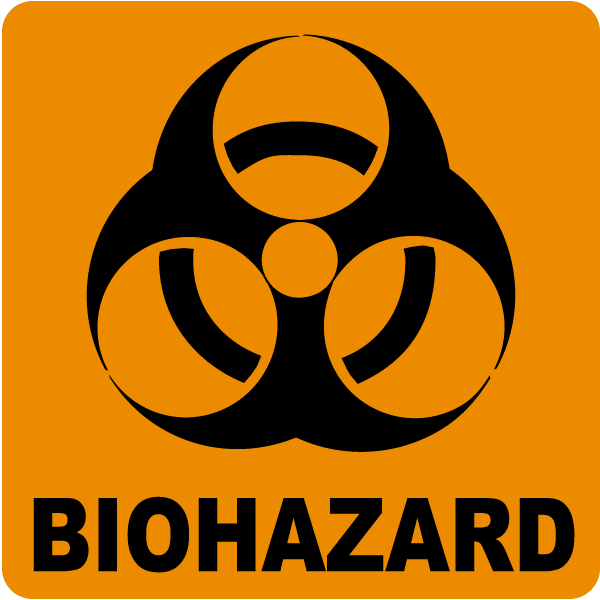 Image result for bio hazard sign