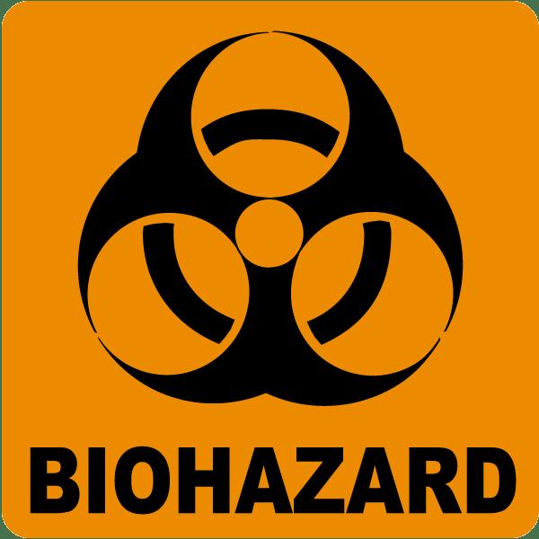 Biohazard Label By Safetysign