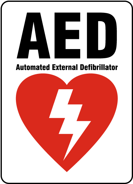 Aed Sign D4659 By Safetysign