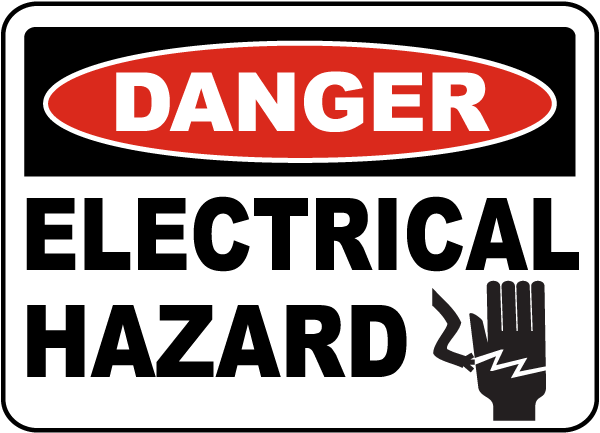 Electrical Safety Sign Download