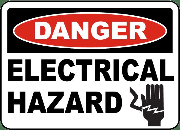 Image result for danger electrical hazard