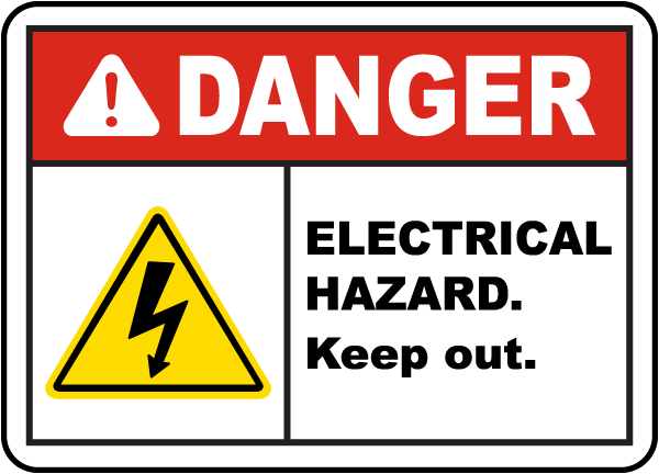 electrical panel warning labels  | safetysign.com