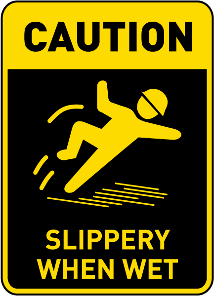 SLIPPERY SURFACE | Buy Now | Discount Safety Signs Australia
