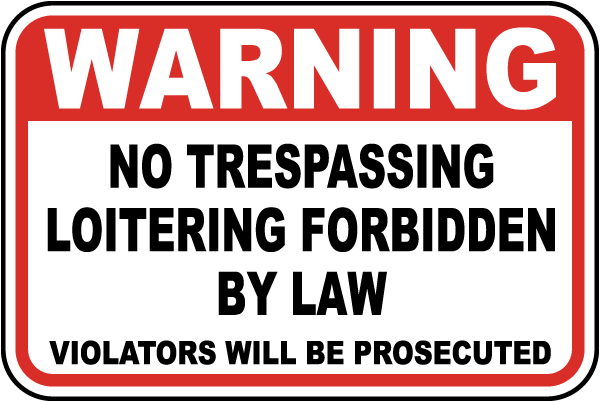 law of tresspass Learn about defenses & penalties for california trespassing laws under penal code 602 from the attorneys of the aizman law firm.